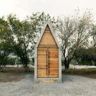 S-AR builds tiny concrete chapel La Providencia in Mexico