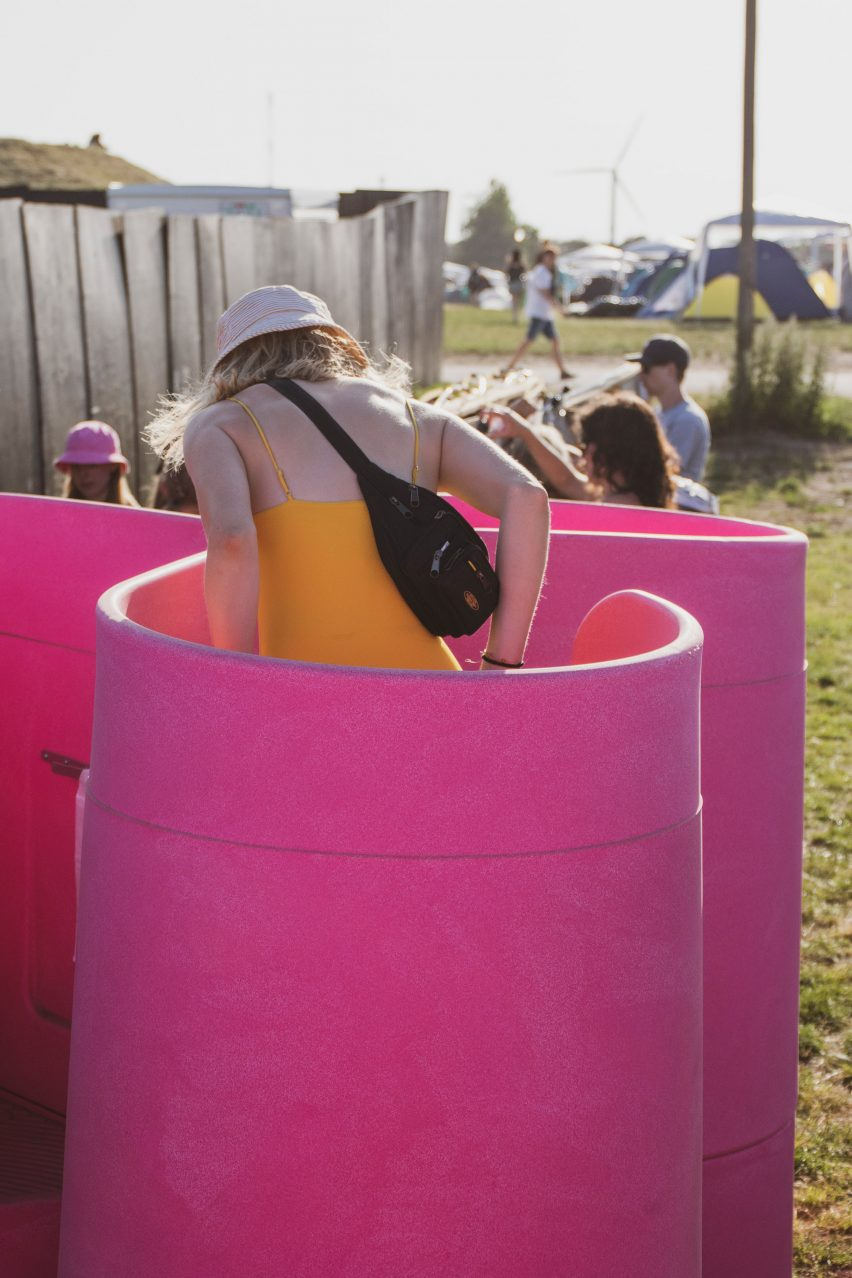 Lapee female urinal by Gina Périer and Alexander Egebjerg