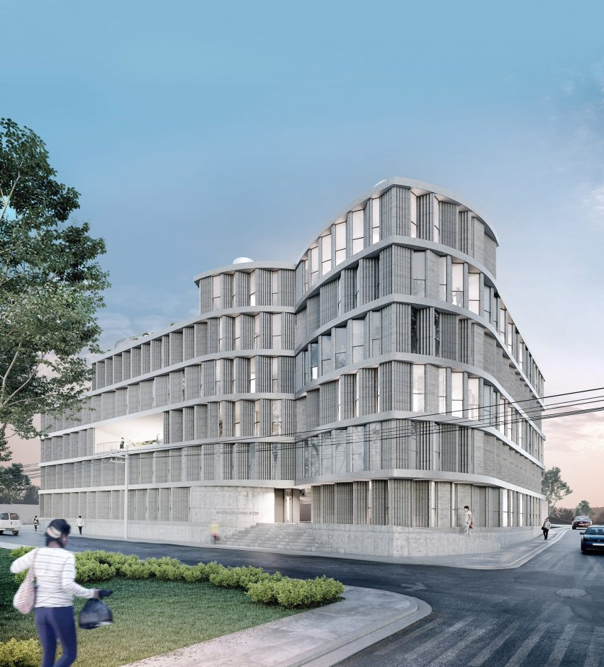 Las Americas affordable housing by SO-IL