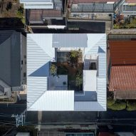 Tomohiro Hata's Loop House faces inwards onto a central courtyard