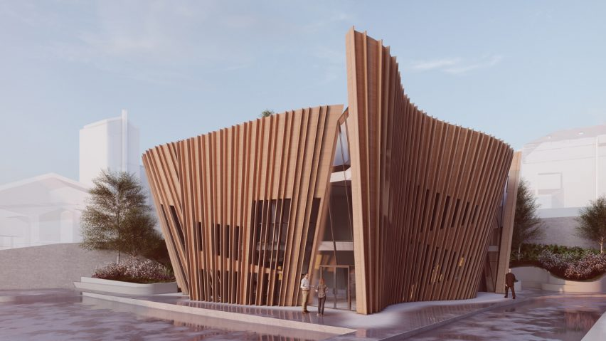 Daniel Libeskind unveils design for Maggie's Cancer Centre in London's Hampstead