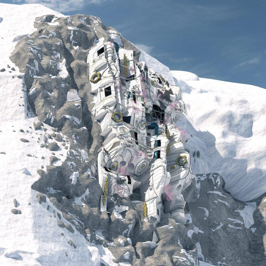 Manipulating Mont Blanc by George Bradford Smith