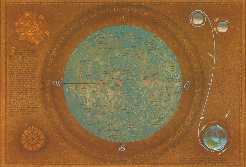 Who Published The First Moon Map Mapping of the Moon marks moon landing with exhibition of lunar maps