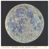 Moon landing: Mapping of the Moon:1669-1969 at The Map House