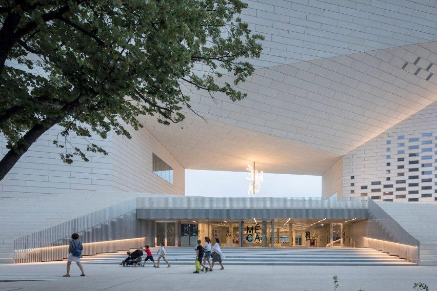 MÉCA cultural centre by BIG and FREAKS, Bordeaux, France