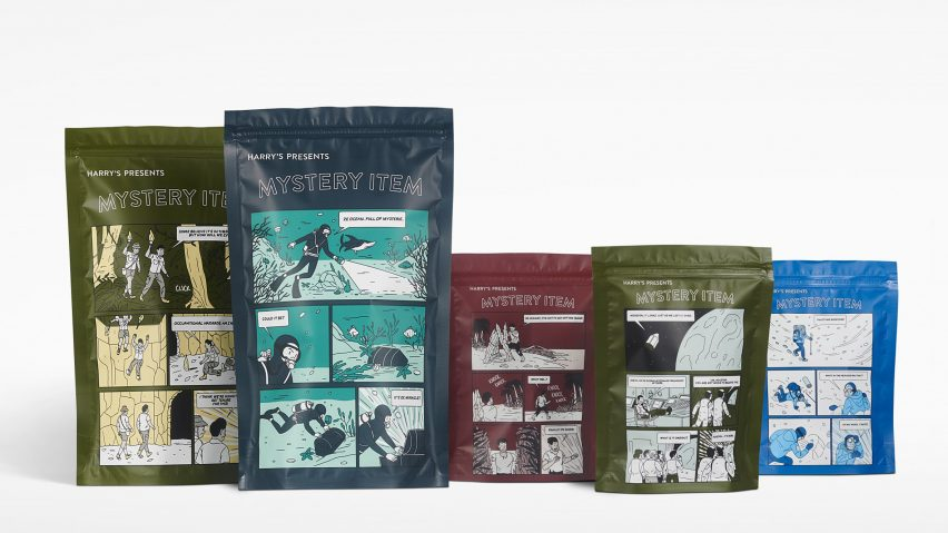 Mystery Item Packaging by Harry's Dezeen Awards 2019 longlist