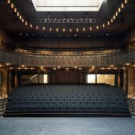 "Witherford Watson Mann builds ""unorthodox"" opera theatre within old stable block"