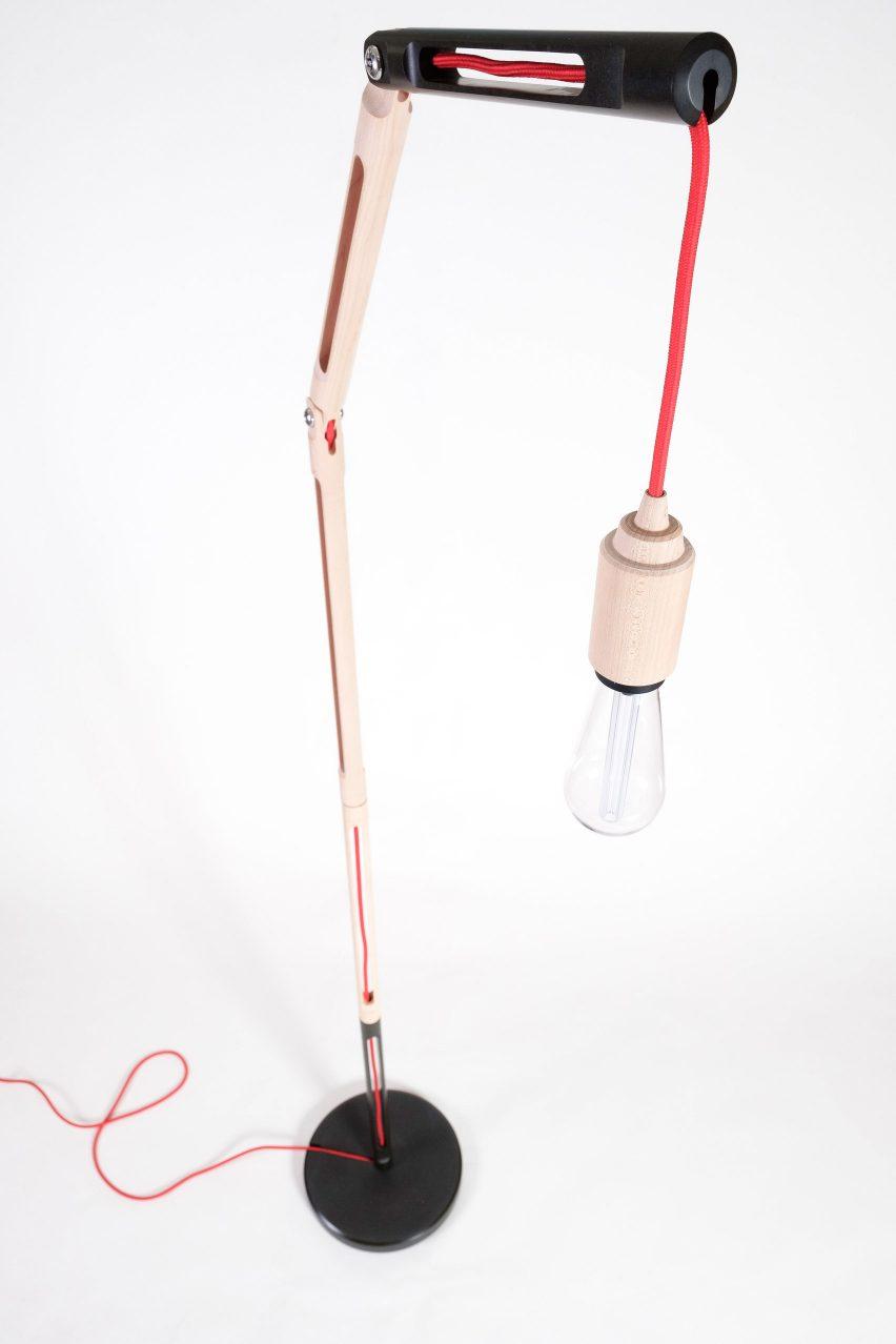Phloem Lamp by Jonathan Pang