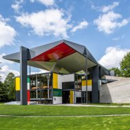 Le Corbusier's colourful final pavilion re-opens in Zurich
