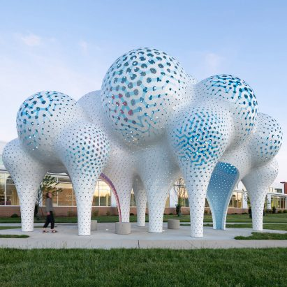 The Very Many creates Pillar of Dreams pavilion in Charlotte
