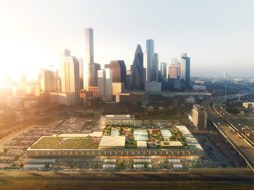 POST Houston renderings by OMA