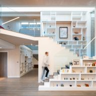 """Cullinan Studio designs """"cracked open"""" house with gaps to let in the light"""
