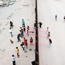 Teeter Totter wall by Rael San Fratello at US-Mexico border