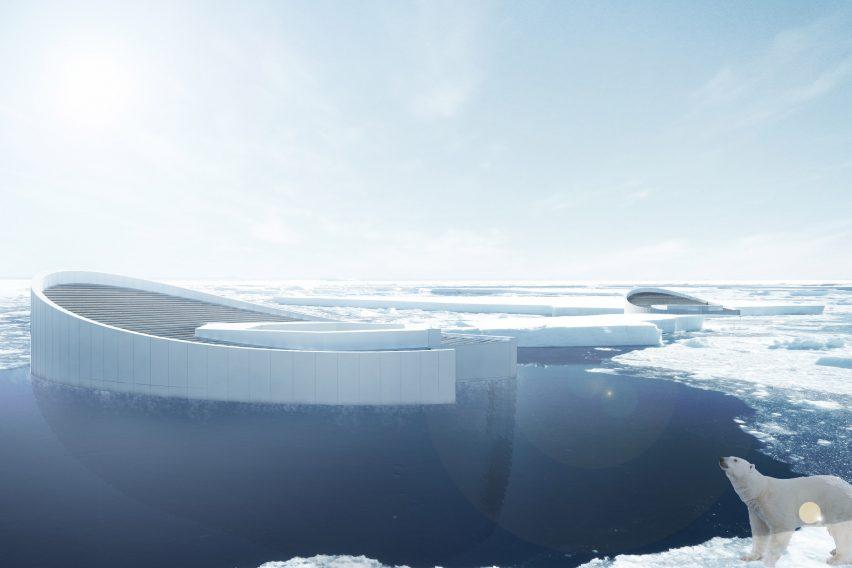 Refreeze the Arctic geoengineering project by Faris Rajak Kotahatuhaha