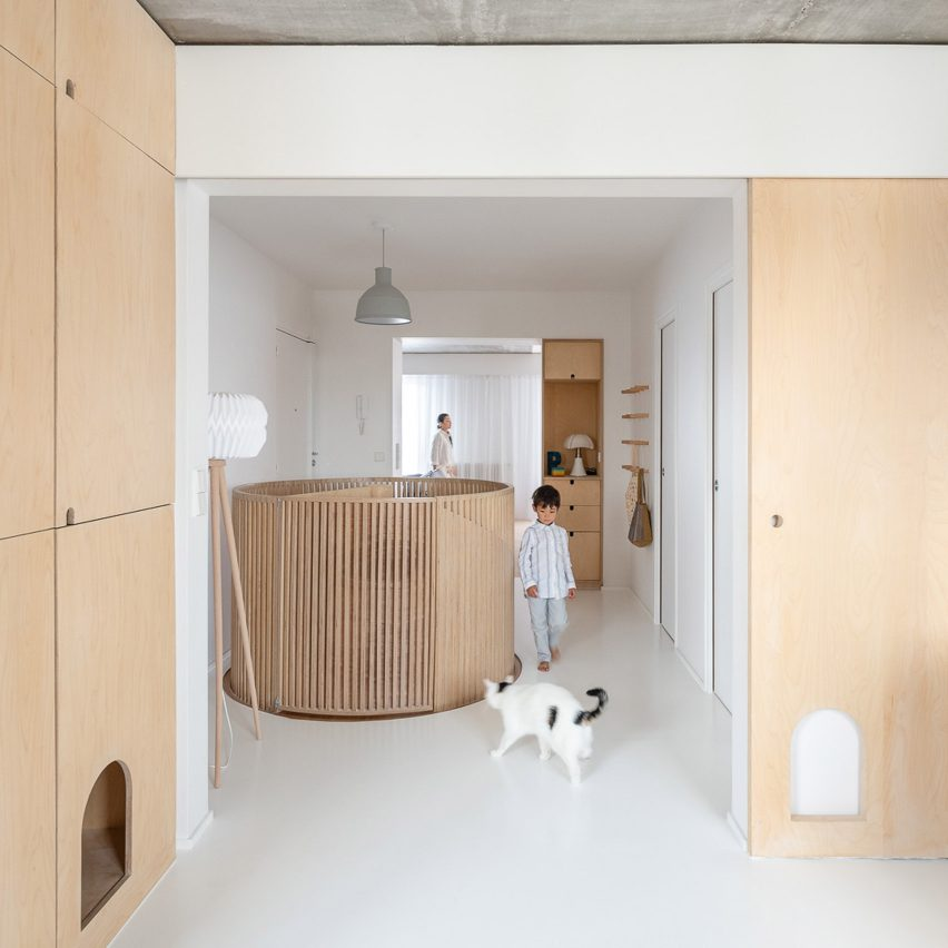 SABO Project creates family-friendly Sacha apartment in Paris