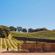 Clayton & Little builds weathering steel barn at California winery