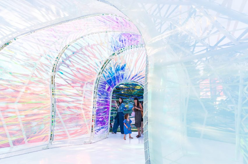 Second Home Serpentine Pavilion by SelgasCano