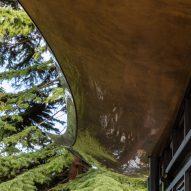 The Serpentine Coffee House by Mizzi Studio