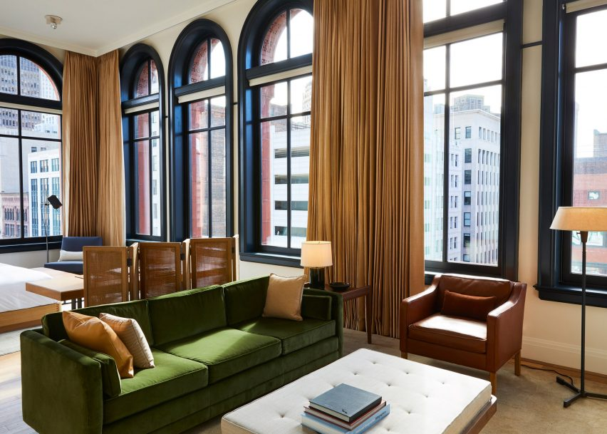 Shinola Hotel, Detroit by Gachot Studios