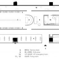 Floor plan of SND Boutique Buyer's Shop by Various Associates
