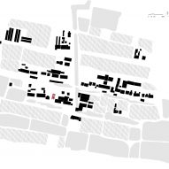 Site plan of Song House by AZL Architects