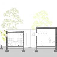 Section C of SOS Children's Village by Urko Sanchez Architects