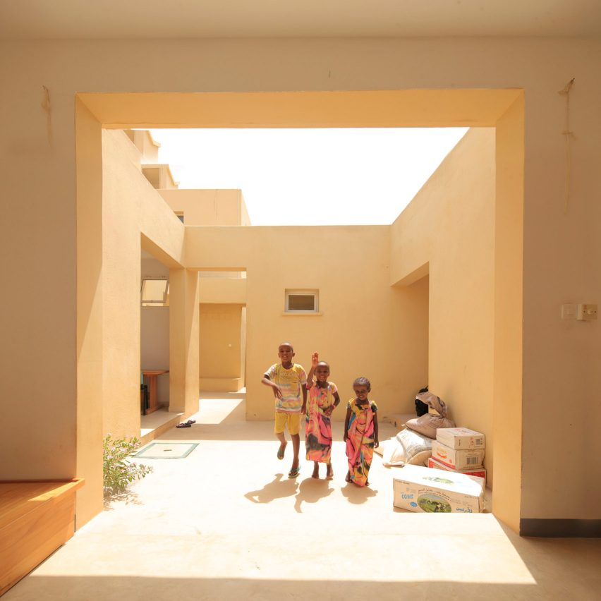 Urko Sanchez Architects builds miniature walled city for orphans
