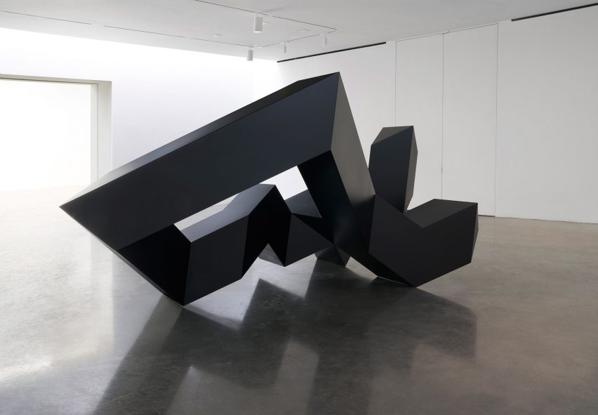 Tony Smith Source, Tau, Throwback exhibition Pace Gallery