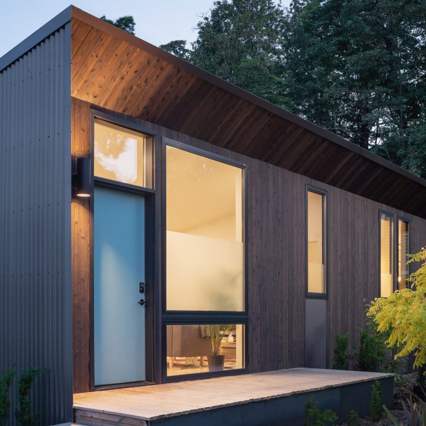 Wittman Estes and NODE use prefab elements to create rentable backyard cottage in Seattle