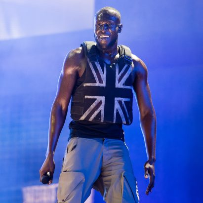 Banksy designs stab-proof vest for Stormzy's Glastonbury set