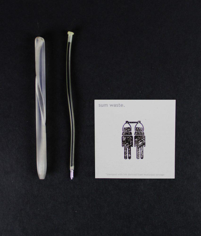 Sum Waste Pen by Pratt Institute student Garrett Benisch