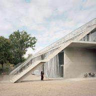 Explore concrete, coloured glass and polycarbonate via our Pinterest boards