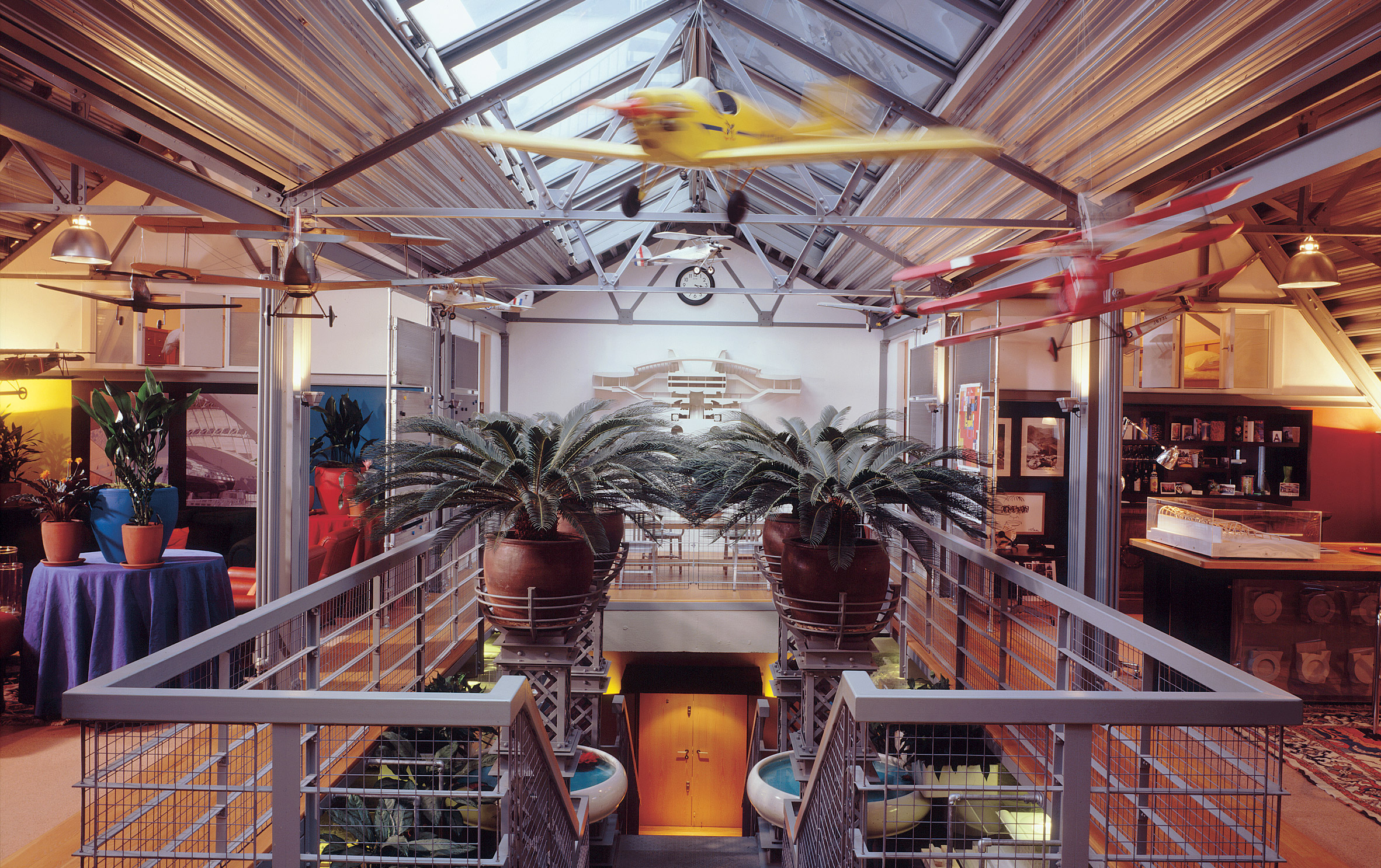 Terry Farrell Puts His Colourful Flat In Old Aeroworks On The Market