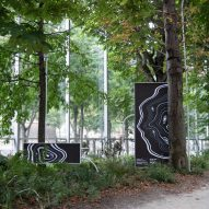 Digital artwork called Symbiosia depicts effect of climate change on trees in Paris
