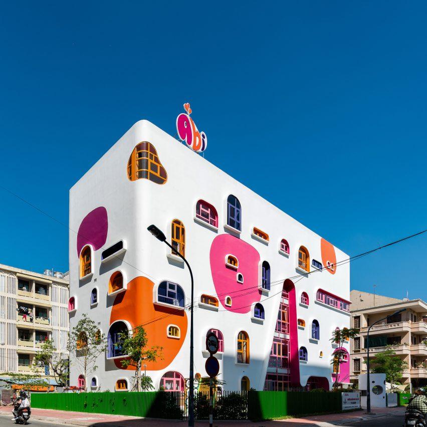 Kientruc O designs colourful kindergarten in Ho Chi Minh City