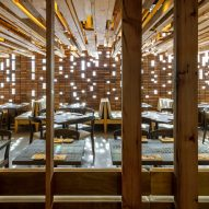 Uchi restaurant and greenhouse in Denver, Colorado by Tres Birds Workshop