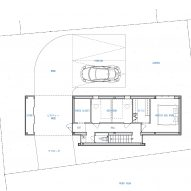 Ground floor plan of UMI House by CAPD design studio