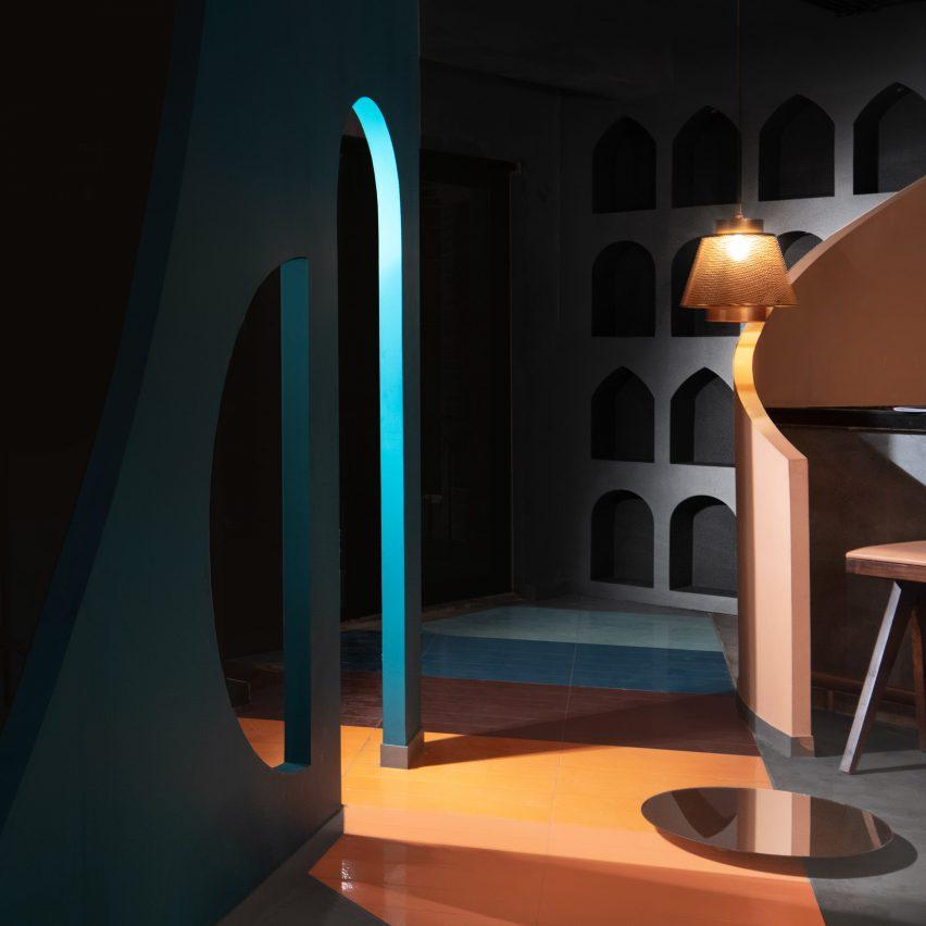 Unlocked Bar & Kitchen in Gurugram, designed by Renesa