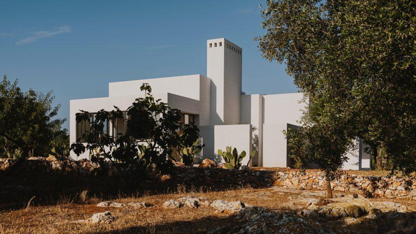 Studio Andrew Trotter models Villa Cardo on traditional houses in Puglia