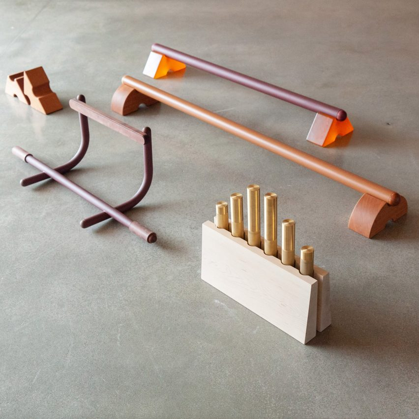 Work in Use designs exercise equipment from fine materials