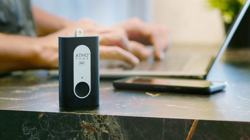 Atmotube air quality tracker