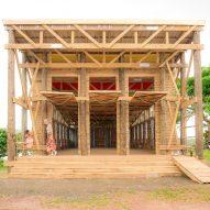 Naidi Community Hall by CAUKIN Studio