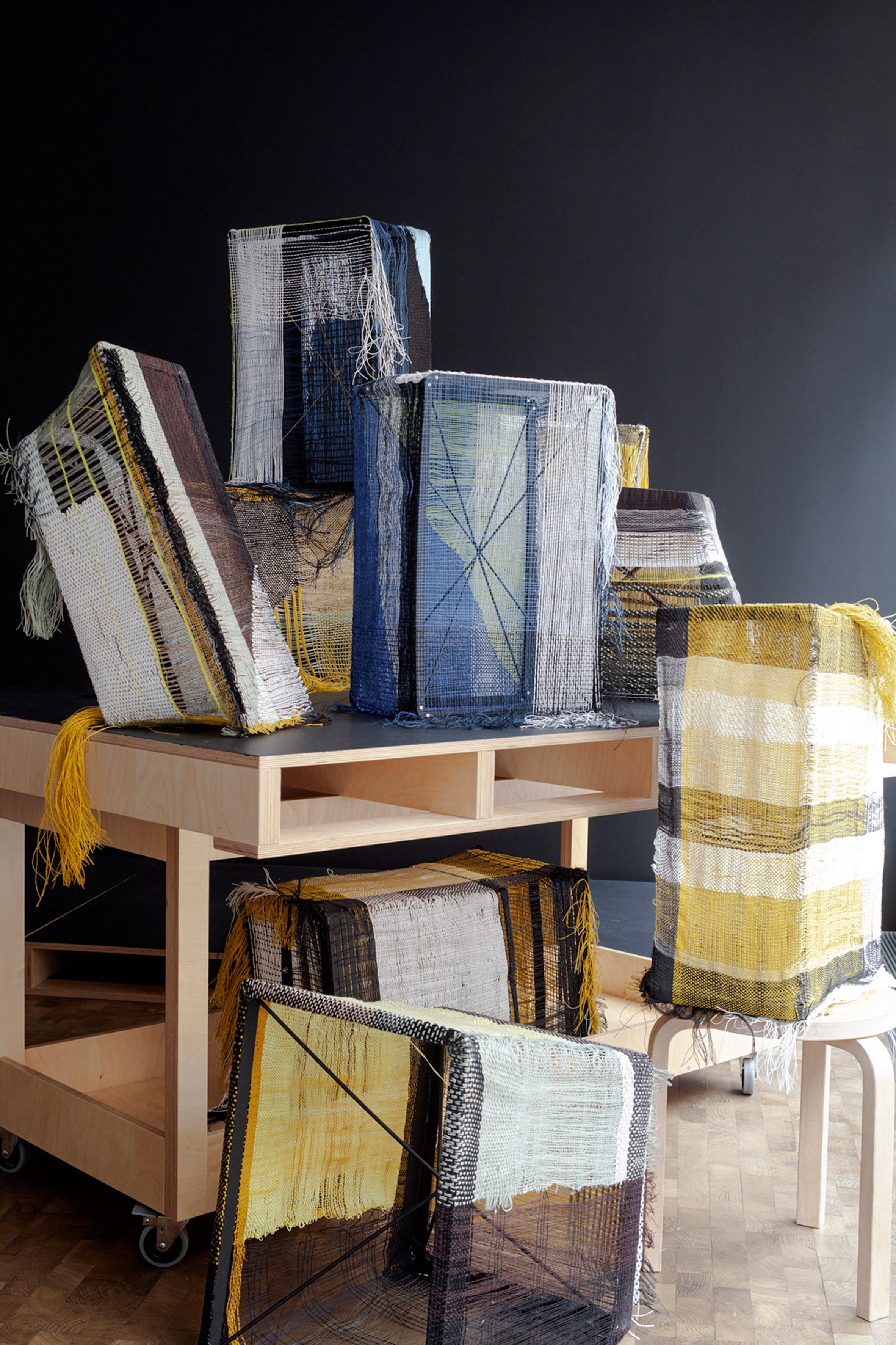 Hella Jongerius Interlace Textile Research exhibition