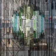 Hella Jongerius fills atrium of Parisian foundation with a giant loom