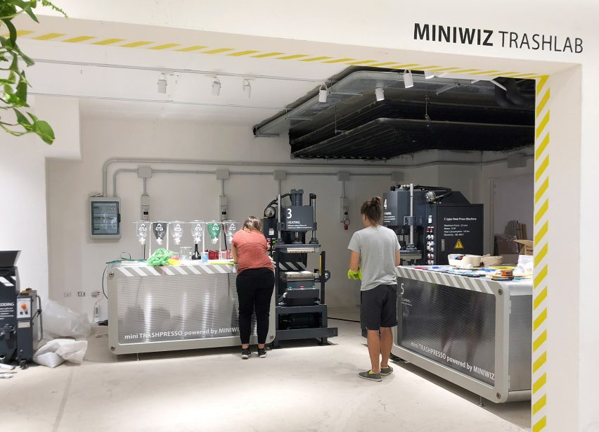 Miniwiz Exchange pop-up store in Sardinia