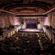 Alexandra Palace Theatre restoration makes a feature of decades of decay