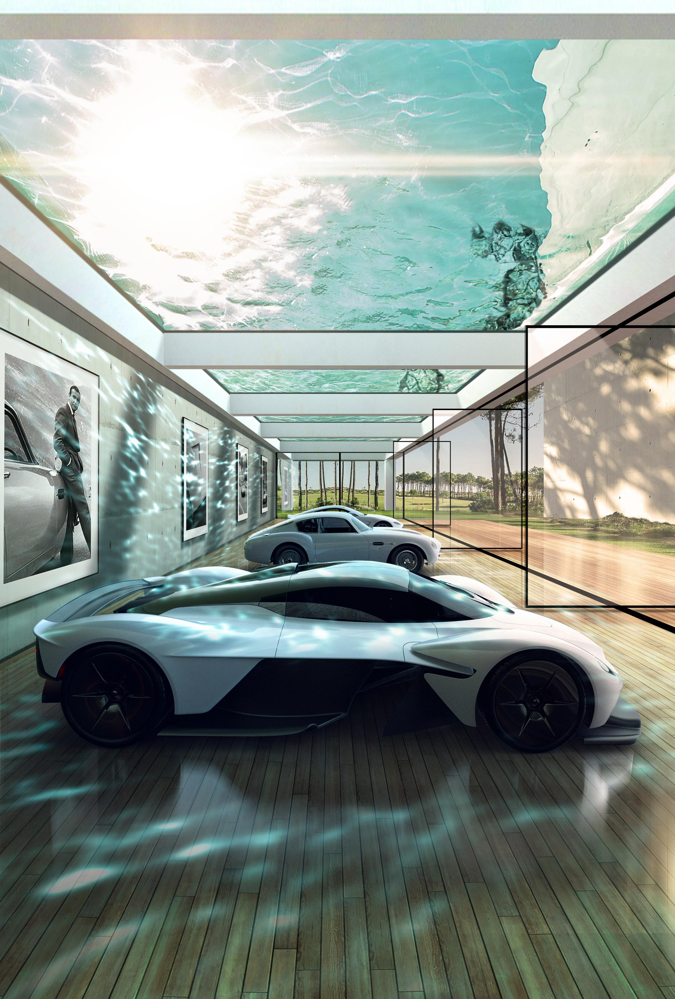 英國超跑品牌Aston Martin推出頂級建築設計服務客製化您的車庫