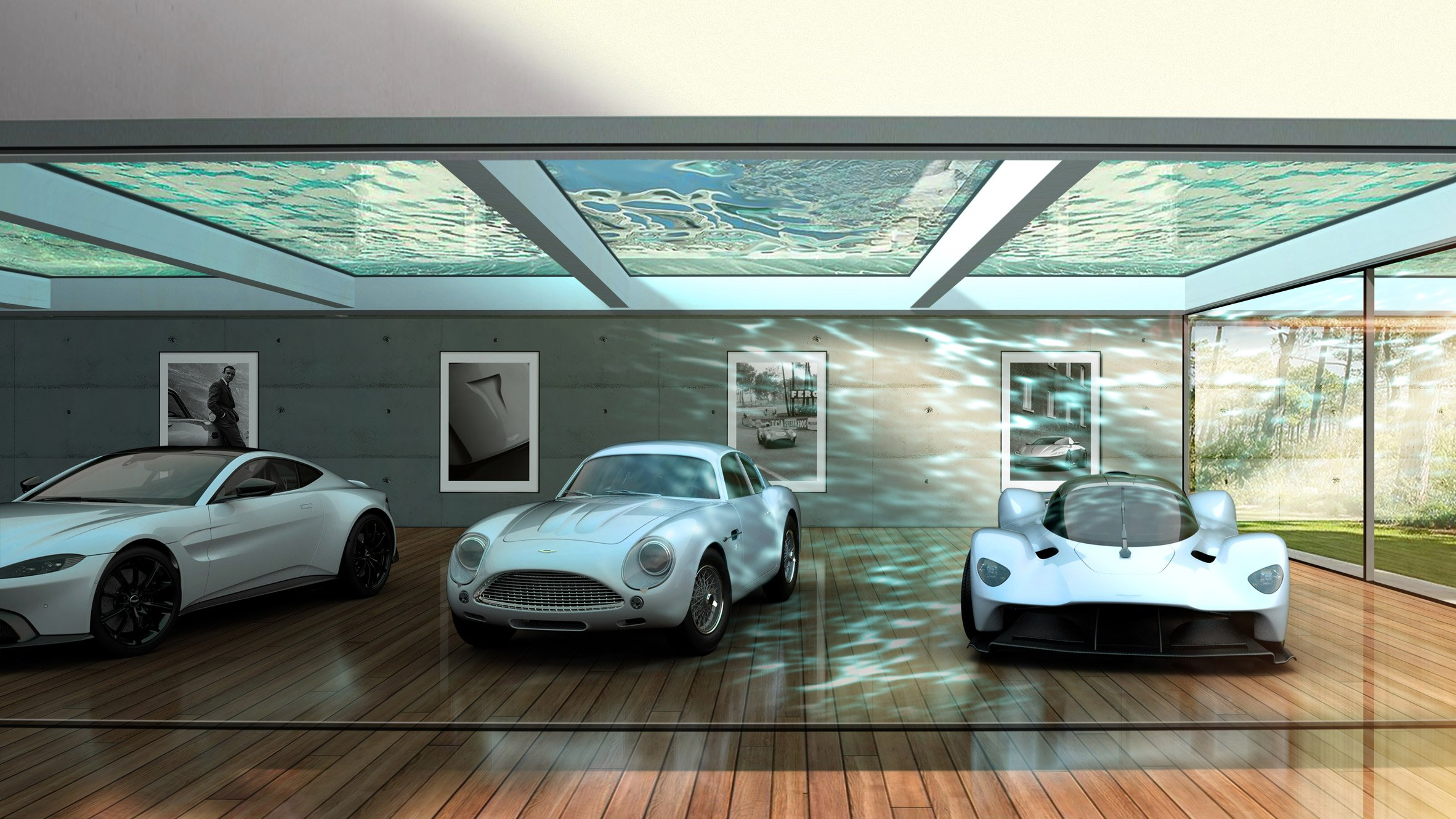 Aston Martin S Architectural Service Will Create Homes Focused Around Cars