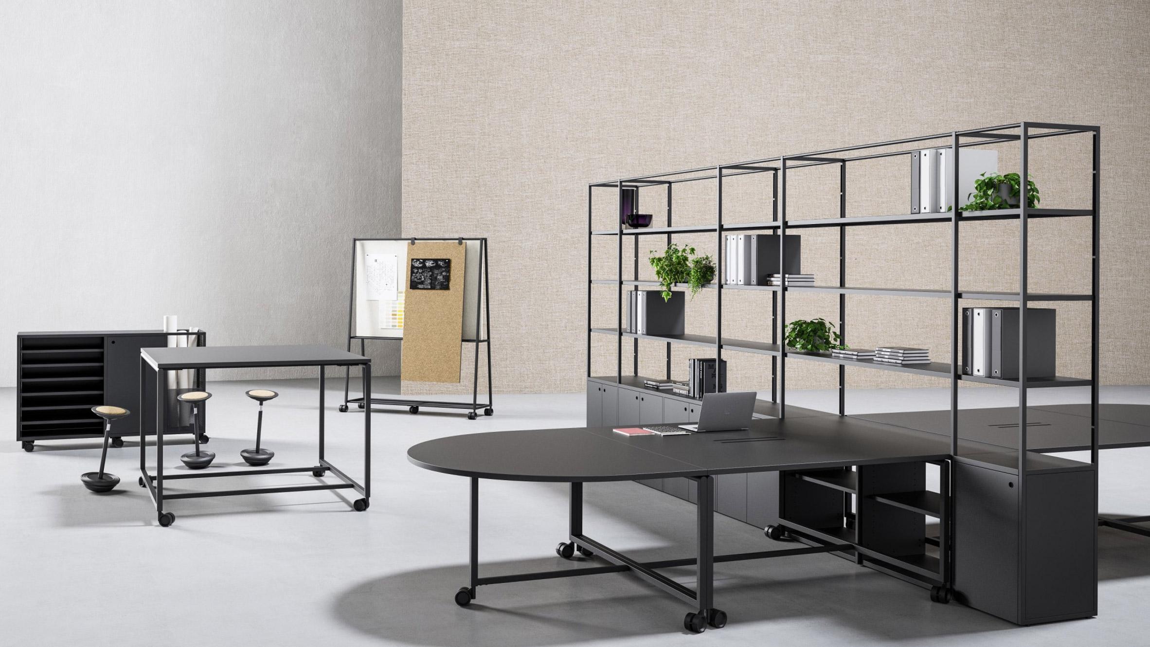 gensler designs modular furniture system to enable