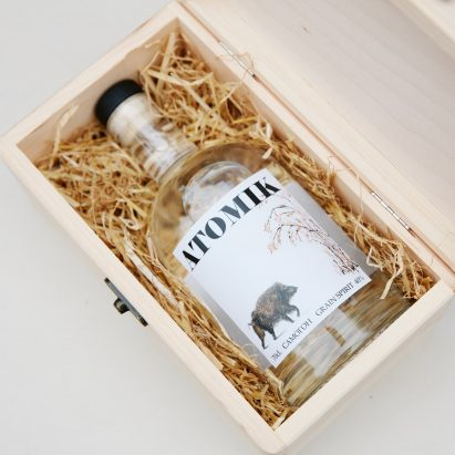 Atomik vodka from the Chernobyl Exclusion Zone